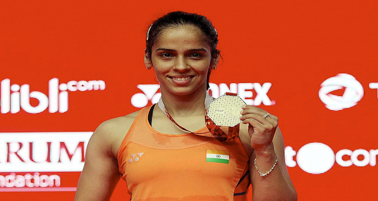 badminton player Saina Nehwal