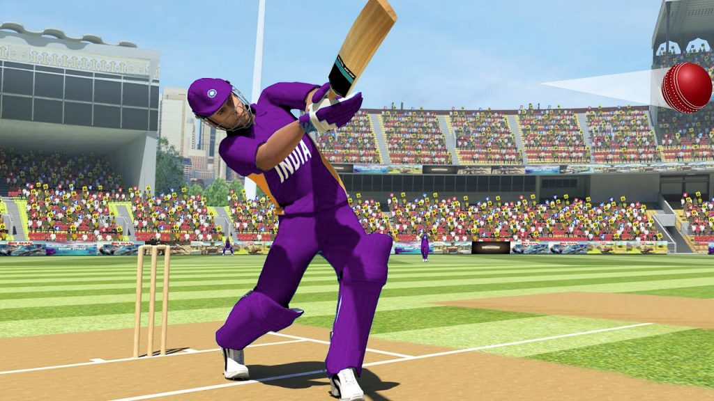 Playing cricket games